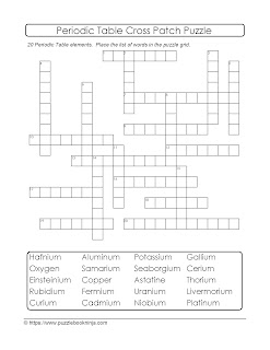 Challenging Crosspatch Puzzle Academic Science