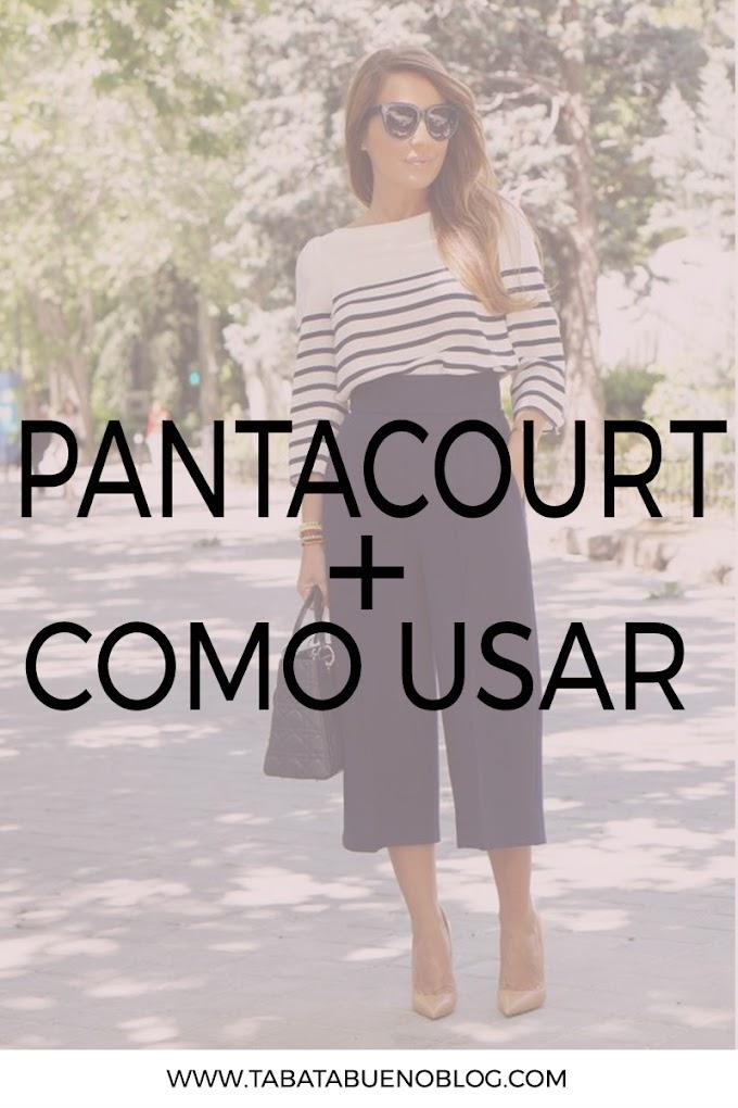 Pantacourt - Como Usar
