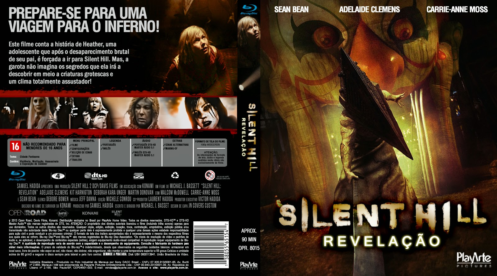 Silent Hill Revelation Dual Audio 1080p 天 地