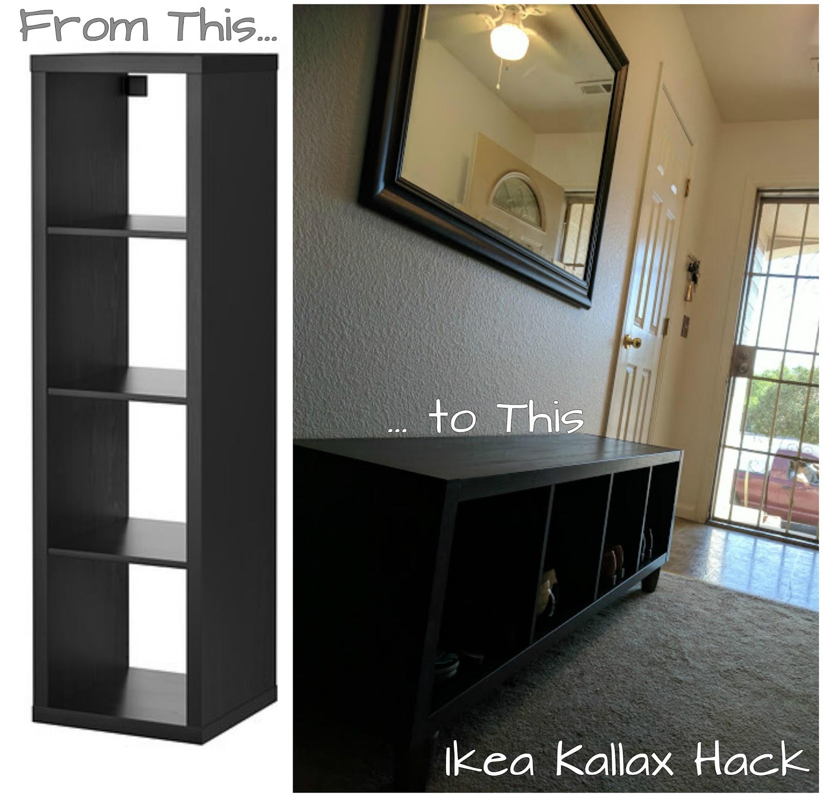 Ikea Kallax Join Ikea Bookshelf Hack Styling Homestead 128