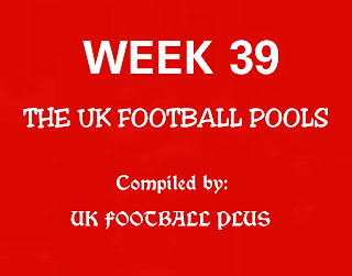 WK38 UK football pools draw in coupon by ukfootballplus