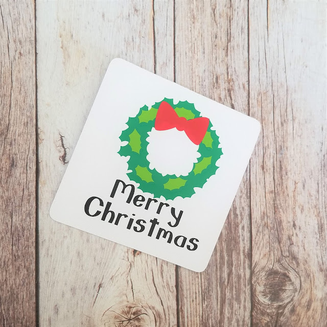 Wreath Christmas Cards