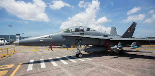 F/A-18D Hornet TUDM