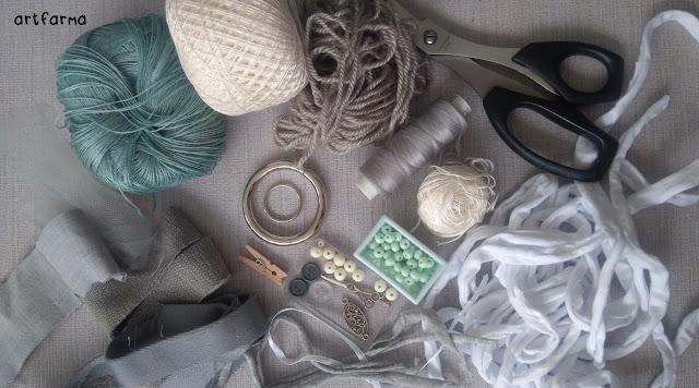DIY- zawieszka łapacz snów do torby