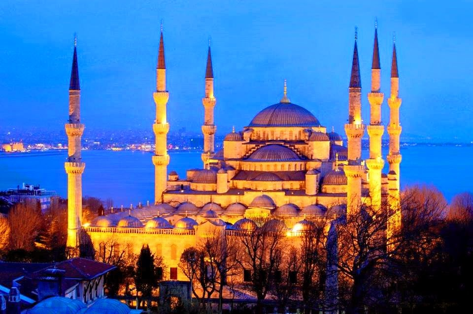 Kabut Sejarah Masjid Sultan Ahmed Blue Mosque Simbol