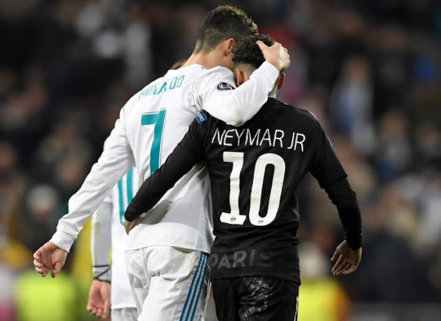 Cristiano vs. Neymar en el Real Madrid-PSG