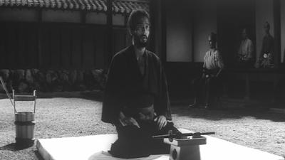 Masaki Kobayashi's Harakiri, Hanshiro Tsugumo narrates his life's tale, Tatsuya Nakadai