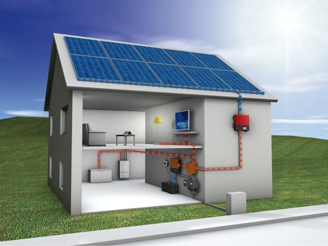 Casas Sostenibles con paneles solares