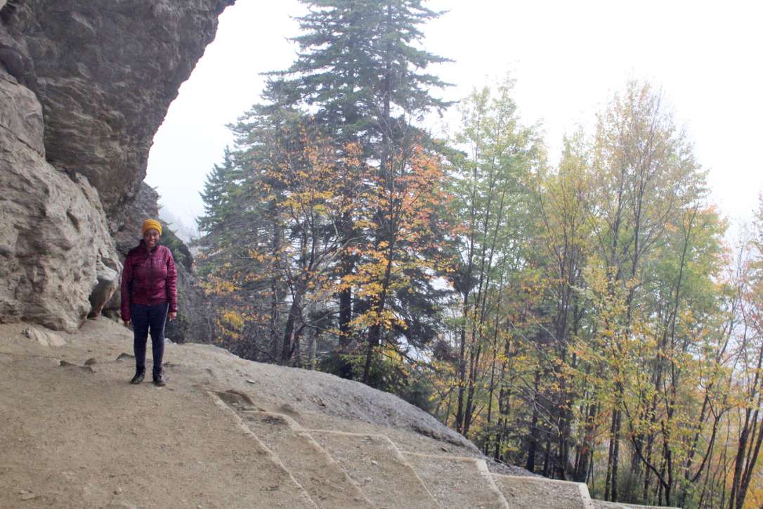 alum cave trail fall