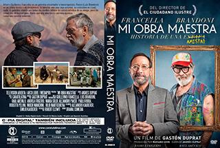 Mi Obra Maestra - Cover DVD