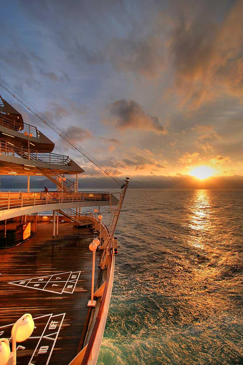 Beautiful Cruise Ship ...