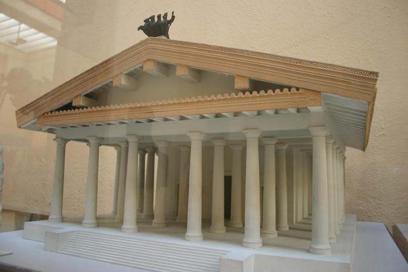 Reconstrucción del Templo de Júpiter Óptimo Máximo Capitolino