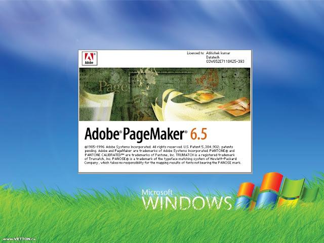 pagemaker 6.5 software free download full version