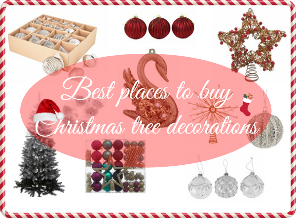 Best Places To Buy Christmas Tree Decorations
