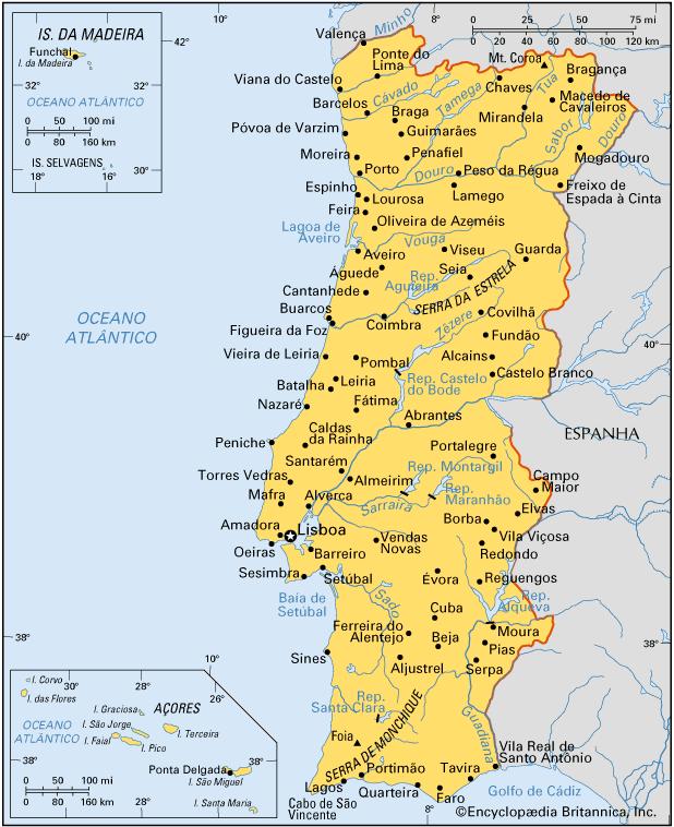 Portugal | Aspectos Socioeconômicos de Portugal