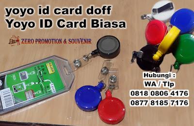 Badge Reels, Yoyo ID Card Statis Aneka Warna, Yoyo ID Card Statis Warna Doff, Yoyo ID Card Biasa, id card holder yoyo doff, id card hanger gantung warna doff dengan harga bersaing