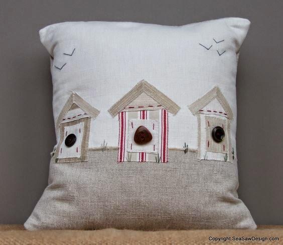 Sea-Saw Design cushion