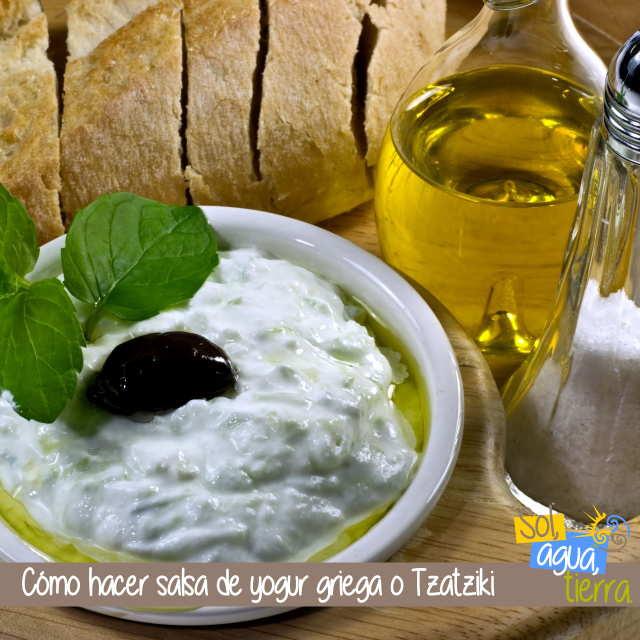 Cómo preparar salsa Tzaziki