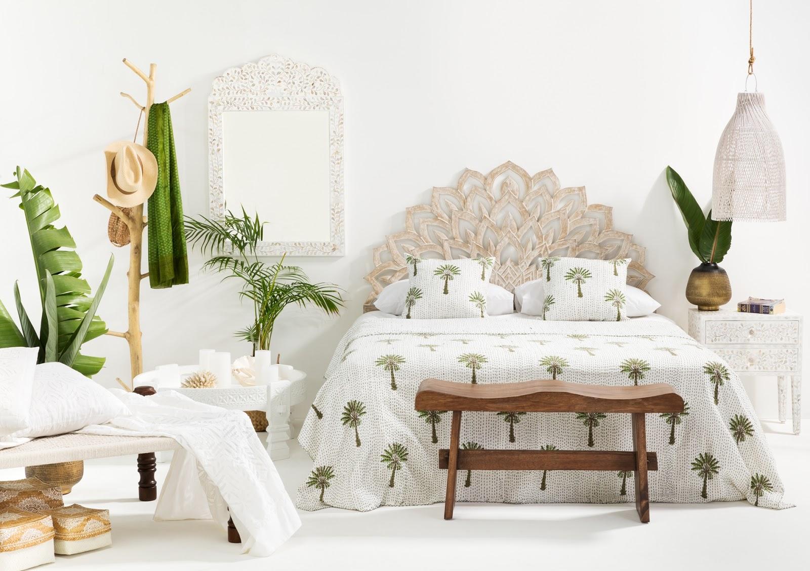 Tropical Bedroom Inspiration