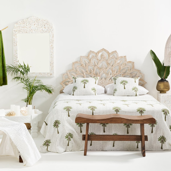Tropical Bedroom Inspiration