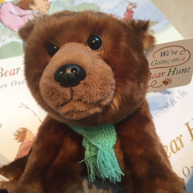Bear toy from We're Going on a Bear Hunt