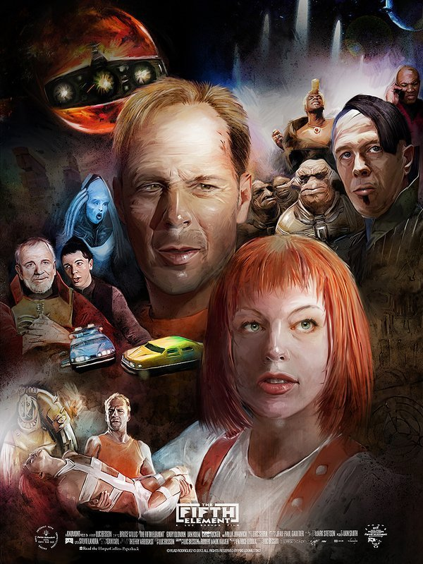 Ver El quinto elemento (The Fifth Element) (1997) Online