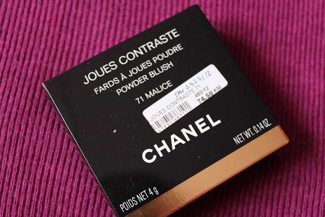 Chanel Malice rumenilo