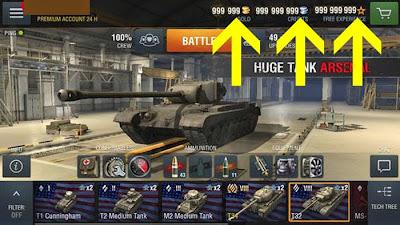 how to cheat world of tanks blitz