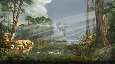 Zaman Prakambrium, Paleozoikum, Mesozoikum dan Kenozoikum