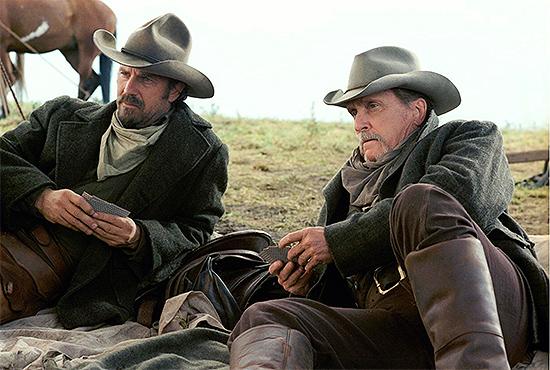 Kevin Costner y Robert Duvall