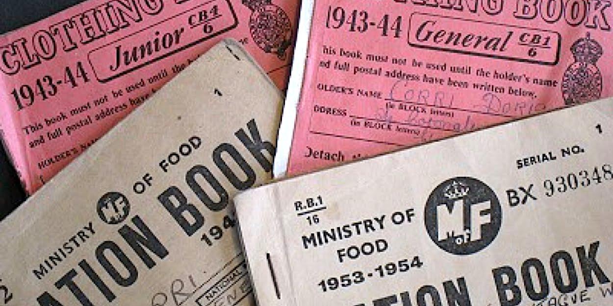 WW2 ration books