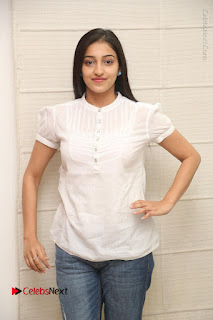 Tollywood Telugu Actress Mouryaani Latest Stills in Ripped Jeans at Intlo Deyyam Nakem Bhayam Movie Interview  0021.JPG