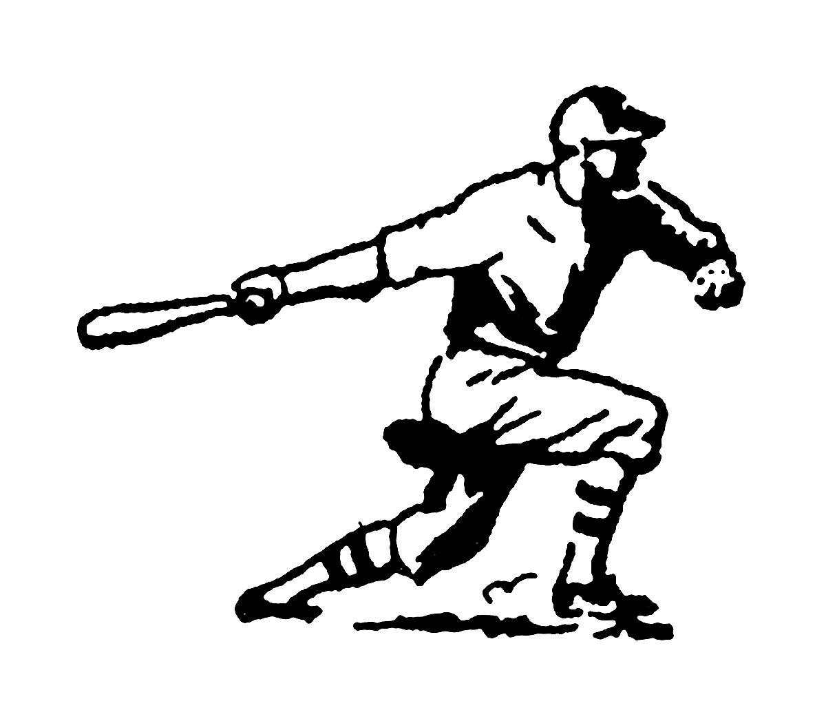 Digital Stamp Design: Vintage Stock Sports Clip Art ...