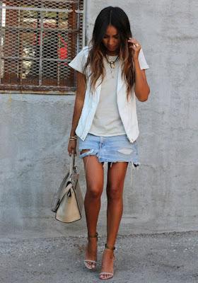 saia jeans inspiração