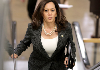 Trump hearings launch Kamala Harris-- The California senator's fierce opposition to the White House is heightening speculation about her 2020 intentions.
