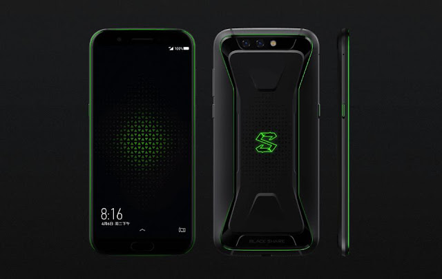 Xiaomi Black Shark Gaming Handset With 8GB Of RAM