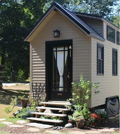 Ngôi nhà nhỏ nhắn xinh xắn đem đến một sự thoải mái tuyệt vời