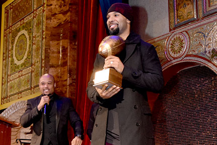 Matt Forte, Chicago Bear with the Circle Foundation