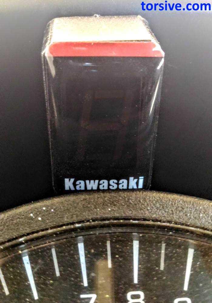 Kawasaki Ninja 300 Gear Indicator Installation and Review | torsive