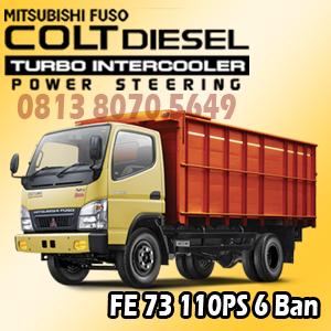 mitsubishi colt diesel canter fe73