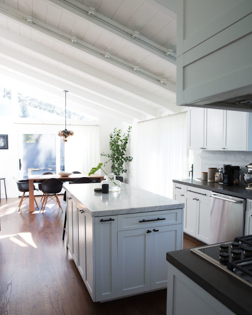 Renovated kitchen of Brendon Urie