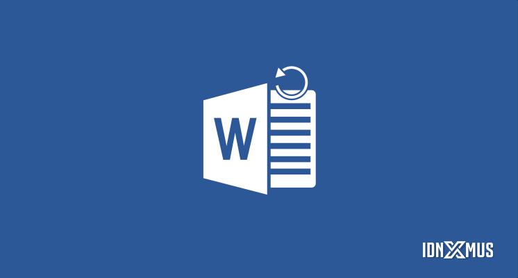 Kembalikan Dokumen Word Yang Tidak Tersimpan