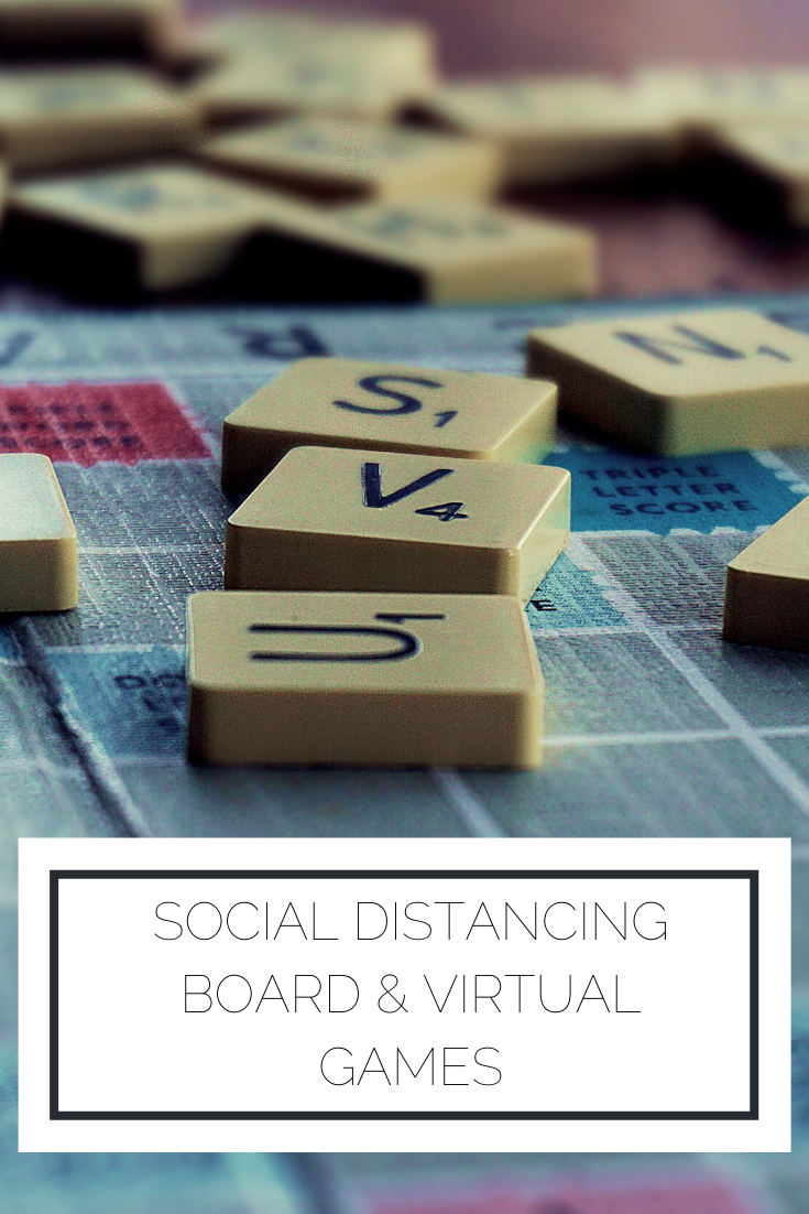 Click to read now or pin to save for later! Check out these board games and virtual games that can keep you entertained during social distancing