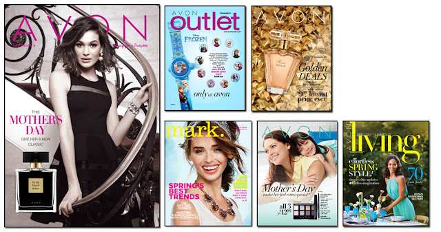 Avon Campaign 9, Avon Outlets, Avon mark magalog,  The online date on this Avon catalogs 4/2/2016' - 4/15/2016'