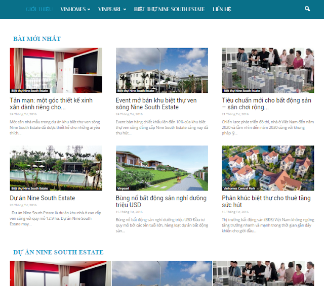 thiet ke website tin tuc bang wordpress