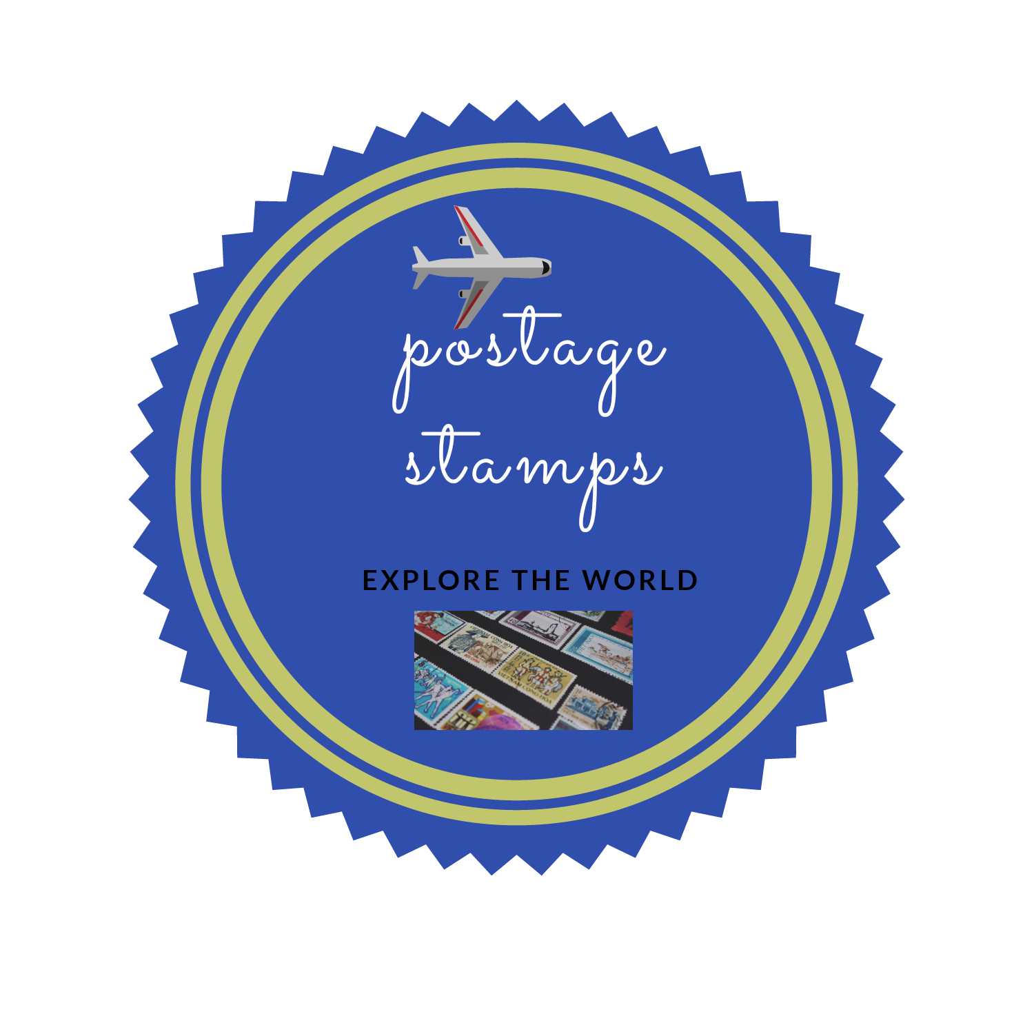 Types of postage stamps