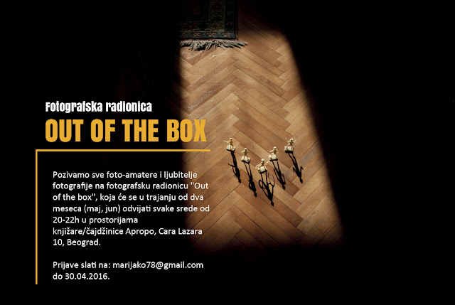 "Fotografska radionica ""Out of the box"""