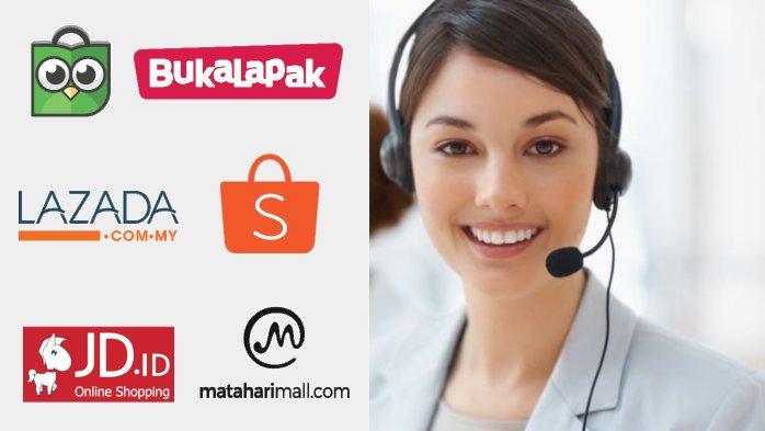 Daftar Nomor Call Center Online Shop yang Bisa Anda Hubungi