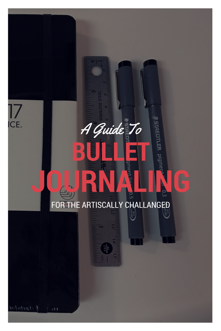 A Guide To Bullet Journalling