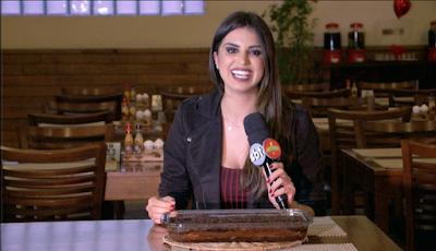 Mônica experimenta Lasanha de Chocolate - Divulgação